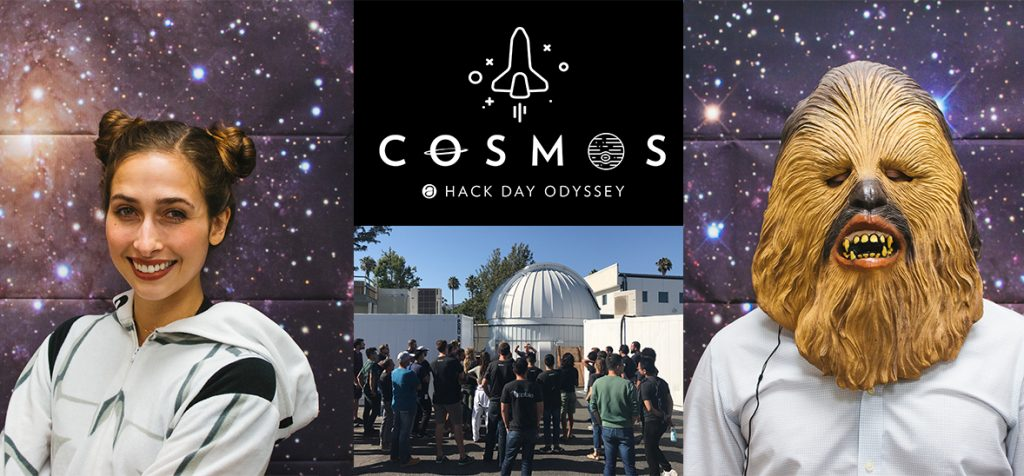Hack day 2017 cosmos