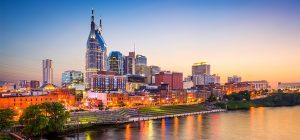 Nashville market skyline