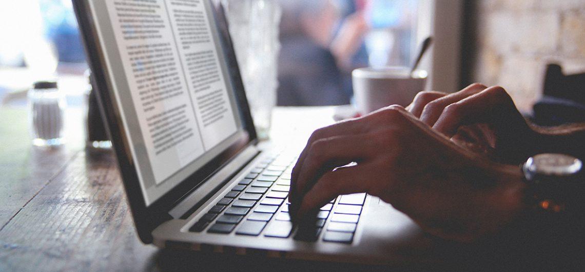 Blog typing