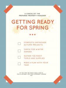 Spring Checklist