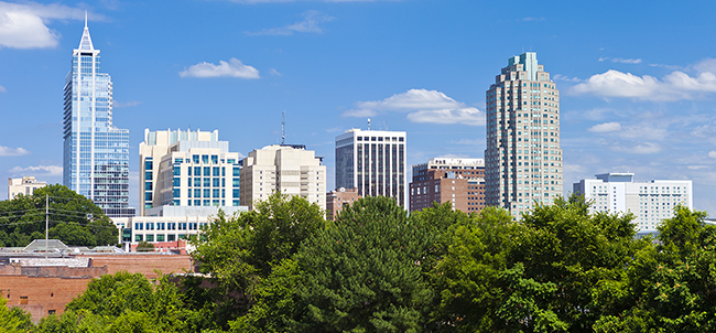 Raleigh - rental trends