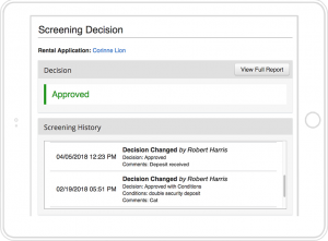 AppFolio Property Manager Built-In Tenant Screening